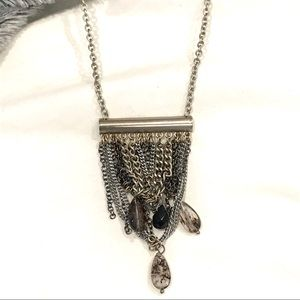 Banana Republic necklace statement pendant